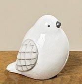 Cтатуэтка птица Tweety белая керамика h5.5см