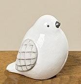 Cтатуэтка птица Tweety белая керамика h5.5см 1005347