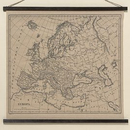 Настенный декор Европа натуральный джут l78см 1005424