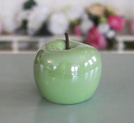 Яблоко Perly цветная керамика h9.5см 1006132