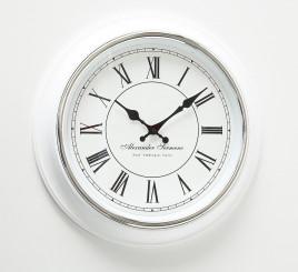 Часы Yella белый полистоун d40cm 3453100