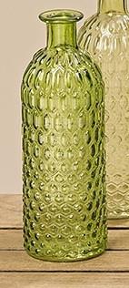 Ваза Джесси цветное лакированое стекло h25d8.5см 3868000