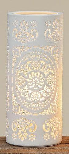 Лампа Шари белая керамика h20см 4259200