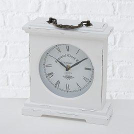 Часы Бетти МДФ белый h24 L21см