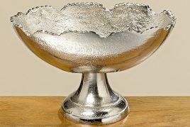 Деко-чаша на подставке Flaire серебро L21 7065100