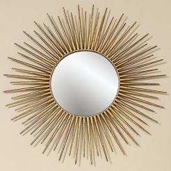 Настенный декор Camo металл золото d75см 8239200