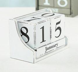 Настольный календарь МДФ 17x11x9см