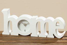 Часы Home белый МДФ L30см