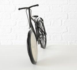 Часы Велосипед металл коричневые L50см