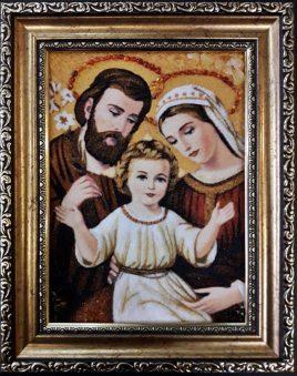 Икона Святое Семейство  і-109 15*20