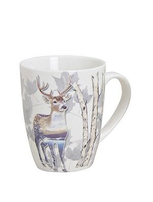 Кружка с фото оленя/волка/медведя керамика 10см 250мл 10014711