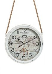 Часы настенные Винтаж металл стекло 8X30 см Гранд Презент 10021827