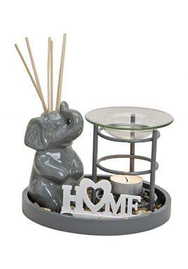 Аромалампа подарочный набор Слон керамика 10024371
