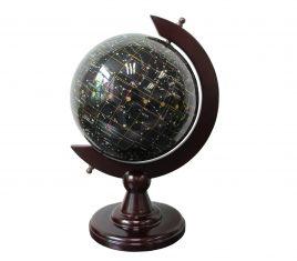 Глобус – ночное небо из полудрагоценного камня топаз Гранд Презент S22001