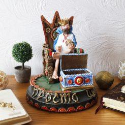 Статуэтка Просто Царь – Мужская визитница 25 см ВП803