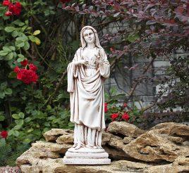 Дева Мария светящаяся 38 см