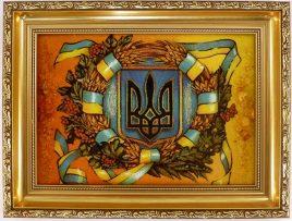 Герб Украины Г-12 30*40