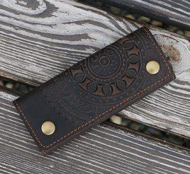 Ключница ЭТНО коричневый 6*14см