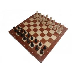 Шахматы Турнирные с инкрустацией — 4 420*420 мм СН 94