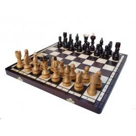 Шахматы ЖЕМЧУЖИНА большие 420*420 мм