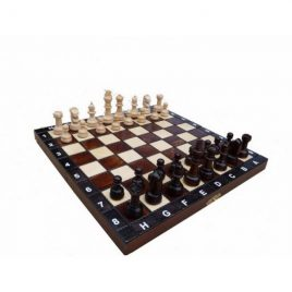 Шахматы деревянные ШКОЛЬНЫЕ 270*270 мм СН 154
