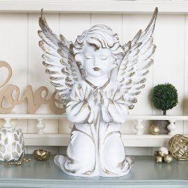 Ангел большой 35 см СП503-2 золото