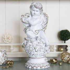 Ангел с арфой 34 см