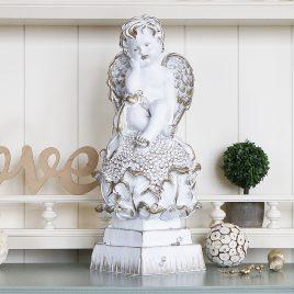 Ангел на цветке 37 см