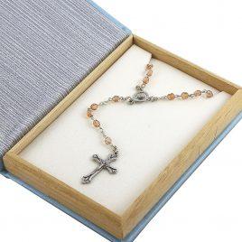 Крестик — четки жемчужена большая 899-Б