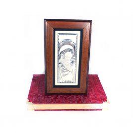 Образ Святая Мария в деревянной рамке Гранд Презент 87