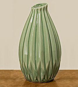 Ваза Русто цветная керамика h12см 1006084