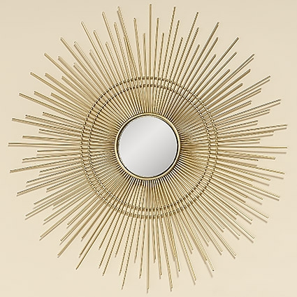 Настенный декор зеркало