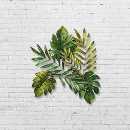 Настенный декор Листья l80см 1007520