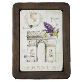"Картина ""Франция"" 28х37"