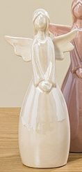 Статуэтка Ангел цветная керамика h18см
