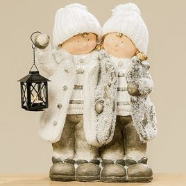 Статуэтка дети зима