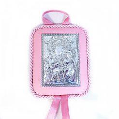 Икона Святая Мария с младенцем на подушечке 41011