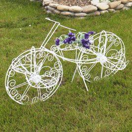 Кашпо велосипед 2-х колёсный 70 см 10901636