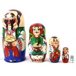 Матрёшка 5-х мальчик украинец 16 см
