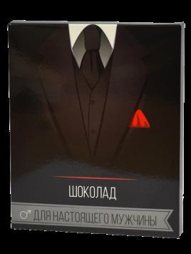"Шоколад ""Для настоящего мужчины"" 20 плиток 012"
