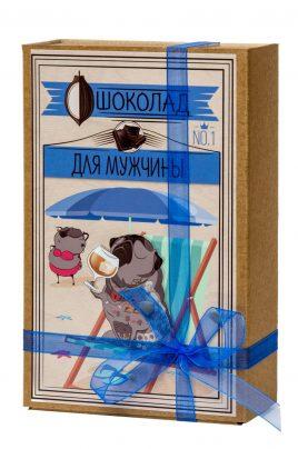 """Шоколад """"Крафт-Мопс Для мужчин"""" 028"""