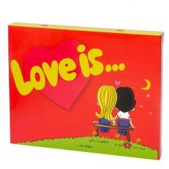 """Шоколад """"Love is"""" 12 плиток 035"""