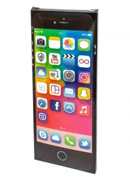 """Шоколадная плитка """"IPhone черный"""""""