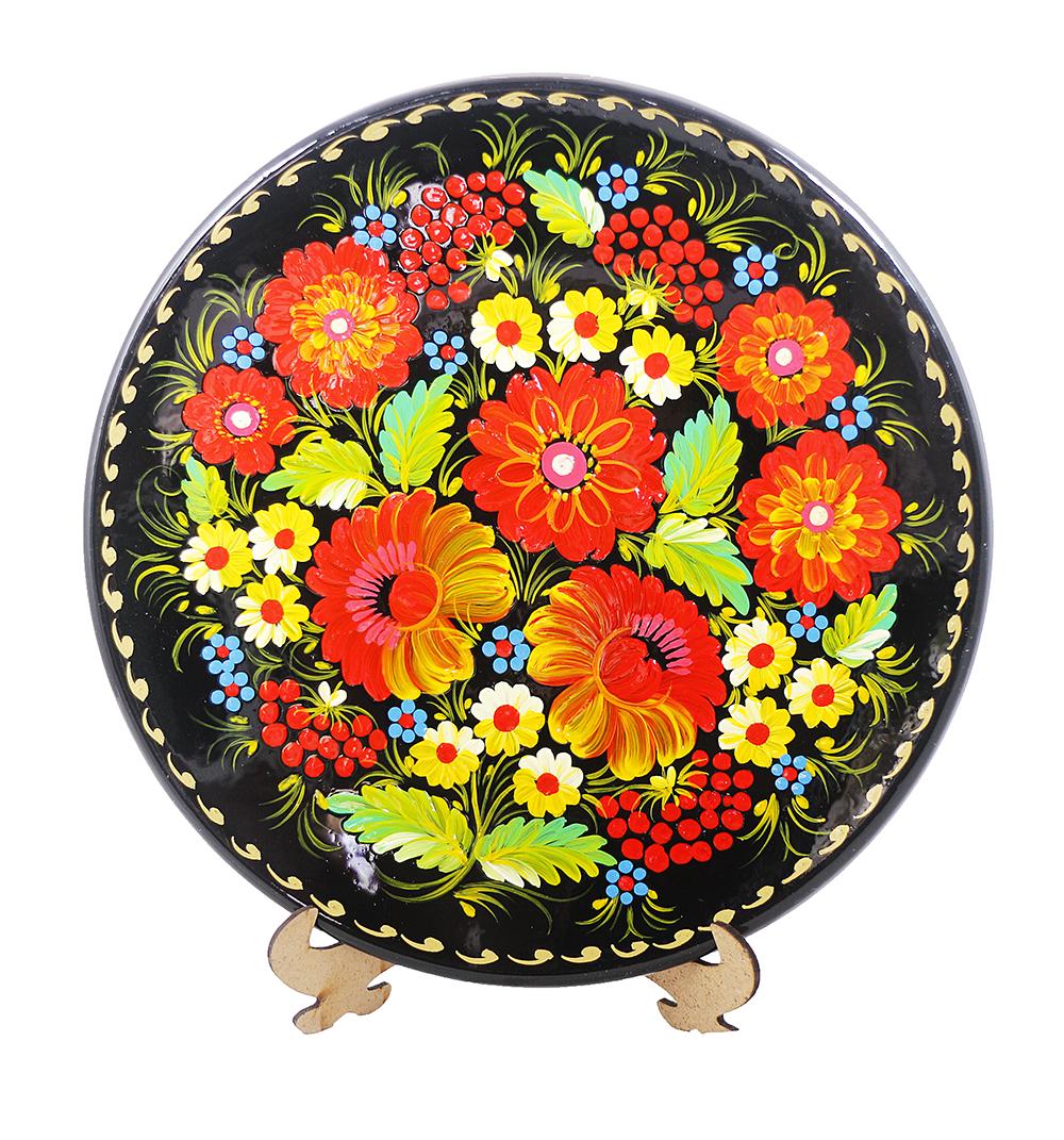 Цветы М-3 Тарелка Д250