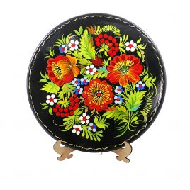 Цветы М-4 Тарелка Д250
