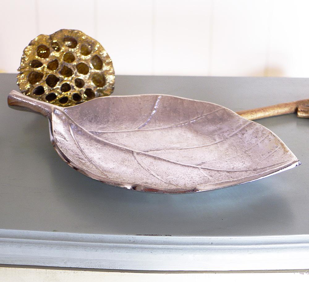 Декоративная чаша Лист овальная L26cm 1003067 -1 овал