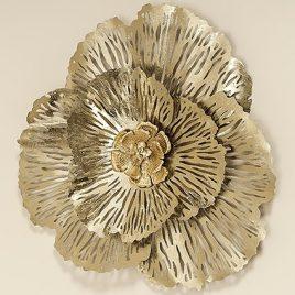 Настенный декор Цветок d74см 1008461