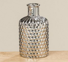 Ваза Даниель серебрянная керамика h17см 1009840