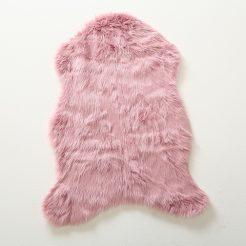 Коврик – розовая шкура  90*60см 1013793