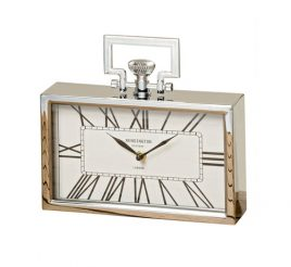 Настольные часы Комо металл h22/33см 3842900